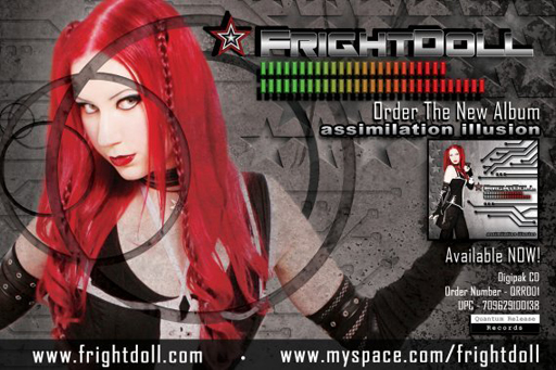 FrightDoll - Assimilation Illusion- Industrial Music